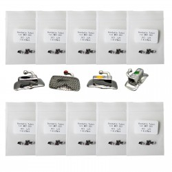 10 Kits 40pcs orthodontique dentaire tube vestibulaire molaire / non convertible...