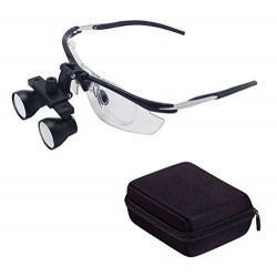 YUYO DY-112 3.5X Dentaire Loupes binoculaires médicales Anti-buée Cadre en alumi...