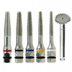 Kit d'outils de scie pour vis d'expansion osseuse chirurgicale d'implant dentair...