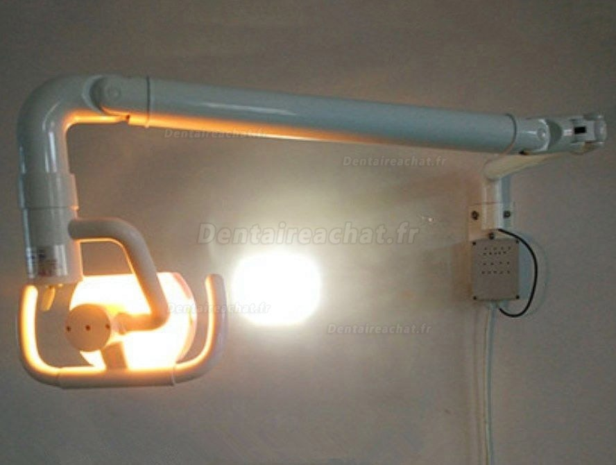 50W Wall Hanging Dental Medical Oral Light Lamp with Arm Shadowless Cold Light